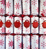 Κροτίδες Χριστουγέννων Στοκ φωτογραφία με δικαίωμα ελεύθερης χρήσης