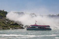 Κρουαζιέρα βαρκών Niagara Στοκ Φωτογραφίες