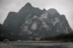 Κρουαζιέρα ποταμών στη κομητεία Yangshuo, Κίνα Στοκ φωτογραφίες με δικαίωμα ελεύθερης χρήσης
