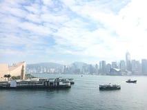 Κρουαζιέρα σε TST HK στοκ φωτογραφίες