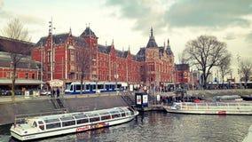 Κρουαζιέρες καναλιών Στοκ εικόνες με δικαίωμα ελεύθερης χρήσης