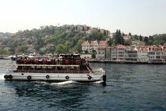 Κρουαζιέρες Bosphorus, Ιστανμπούλ, Τουρκία Στοκ εικόνες με δικαίωμα ελεύθερης χρήσης