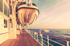 Κρουαζιερόπλοιο και ταξίδι ασφάλειας Στοκ Εικόνες