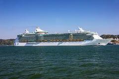 Κρουαζιερόπλοιο πολυτέλειας, Λισσαβώνα, Πορτογαλία Στοκ εικόνα με δικαίωμα ελεύθερης χρήσης