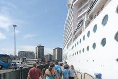 Κρουαζιερόπλοιο Msc Musica Στοκ Φωτογραφίες