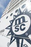 Κρουαζιερόπλοιο Msc Musica Στοκ Εικόνα