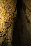 Κρυμμένη είσοδος σπηλιών στο βουνό Miroc, εθνικό πάρκο Djerdap Στοκ Εικόνες