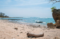 Κρυμμένη η Τερέζα παραλία Santa στοκ εικόνα με δικαίωμα ελεύθερης χρήσης
