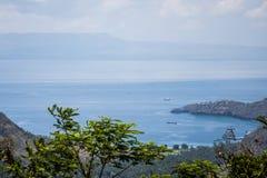 Κρυμμένη μπλε παραλία λιμνοθαλασσών του Μπαλί η Ινδονησία Στοκ φωτογραφία με δικαίωμα ελεύθερης χρήσης