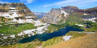 Κρυμμένο εθνικό πάρκο παγετώνων λιμνών Στοκ Εικόνες