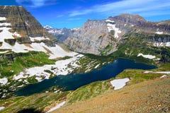 Κρυμμένο εθνικό πάρκο παγετώνων λιμνών Στοκ φωτογραφίες με δικαίωμα ελεύθερης χρήσης
