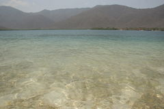Κρυστάλλινα νερά της καραϊβικής θάλασσας Βενεζουέλα στοκ φωτογραφίες με δικαίωμα ελεύθερης χρήσης