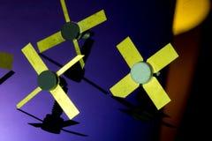Κρυσταλλολυχνίες δύναμης RF Στοκ Εικόνες