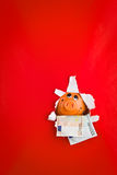κρυφοκοίταγμα τραπεζών piggy Στοκ Εικόνες