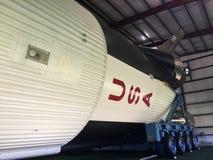 Κρόνος Β πύραυλος φεγγαριών στο διαστημικό κέντρο Χιούστον Στοκ Εικόνα