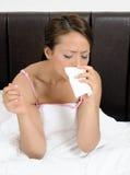 κρύα γρίπη αλλεργιών Στοκ φωτογραφίες με δικαίωμα ελεύθερης χρήσης