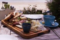 Κρύα κρέατα και ψωμί Στοκ φωτογραφία με δικαίωμα ελεύθερης χρήσης