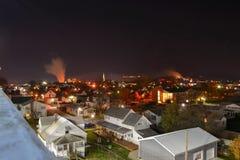 κρύα νύχτα Στοκ εικόνες με δικαίωμα ελεύθερης χρήσης
