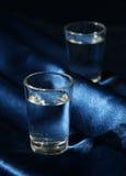 κρύα σκοτεινά γυαλιά δύο Στοκ Εικόνες