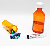 κρύα φάρμακα μόλυνσης Στοκ Εικόνες