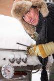 Κρύα BBQ έναρξη Στοκ φωτογραφίες με δικαίωμα ελεύθερης χρήσης