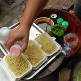 Κρύα noodles Στοκ εικόνα με δικαίωμα ελεύθερης χρήσης