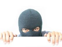 κρύβοντας ληστής Στοκ εικόνα με δικαίωμα ελεύθερης χρήσης