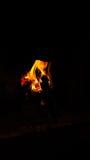 Κρύες νύχτες Στοκ φωτογραφία με δικαίωμα ελεύθερης χρήσης