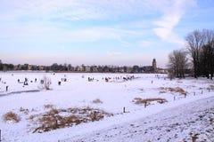 κρύος ακραίος καιρός Στοκ εικόνες με δικαίωμα ελεύθερης χρήσης