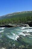 κρύος βράχος ποταμών Στοκ φωτογραφία με δικαίωμα ελεύθερης χρήσης
