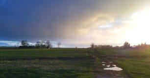 κρύος ουρανός Στοκ εικόνα με δικαίωμα ελεύθερης χρήσης