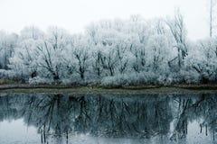 κρύος ποταμός Στοκ εικόνες με δικαίωμα ελεύθερης χρήσης