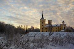 κρύος χειμώνας πρωινού Στοκ Φωτογραφία