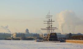 κρύος χειμώνας πρωινού Στοκ Εικόνα