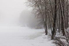 κρύος χειμώνας Στοκ εικόνα με δικαίωμα ελεύθερης χρήσης