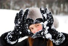κρύος χειμώνας Στοκ εικόνες με δικαίωμα ελεύθερης χρήσης