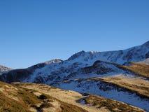 Κρύο βουνό Στοκ Φωτογραφίες