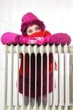 κρύο θερμαντικό σώμα στοκ εικόνες