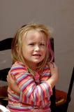 κρύο παίρνοντας κορίτσι Στοκ Εικόνες