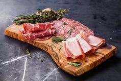 Κρύο πιάτο κρέατος Στοκ εικόνα με δικαίωμα ελεύθερης χρήσης