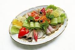 κρύο πιάτο στοκ εικόνες με δικαίωμα ελεύθερης χρήσης