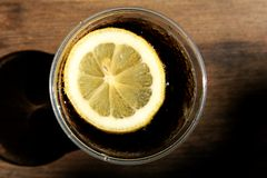 κρύο ποτό κόλας Στοκ φωτογραφίες με δικαίωμα ελεύθερης χρήσης
