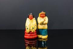 Κρύο που φαίνεται δονητές αλάτι και πιπέρια αμερικανών ιθαγενών στοκ φωτογραφία