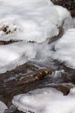 Κρύο ρεύμα βουνών Στοκ Εικόνα