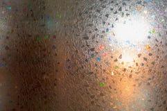 Κρύσταλλο με τις γεωμετρικές μορφές Στοκ Φωτογραφία