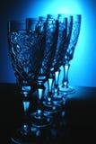 κρύσταλλο πέντε γυαλί Στοκ φωτογραφία με δικαίωμα ελεύθερης χρήσης