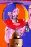 κρύσταλλο πεταλούδων σ&ph στοκ φωτογραφίες