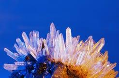 Κρύσταλλο χαλαζία Στοκ Φωτογραφία