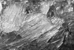 Κρύσταλλα πάγου Στοκ φωτογραφίες με δικαίωμα ελεύθερης χρήσης