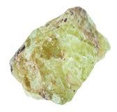 Κρύσταλλα apatite στροντίου Saamit της πέτρας Στοκ Εικόνα